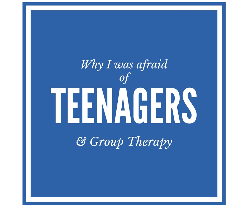 Teenagers and group therapy