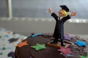 Graduating Teenager