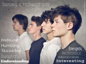 Raising a teenage boy