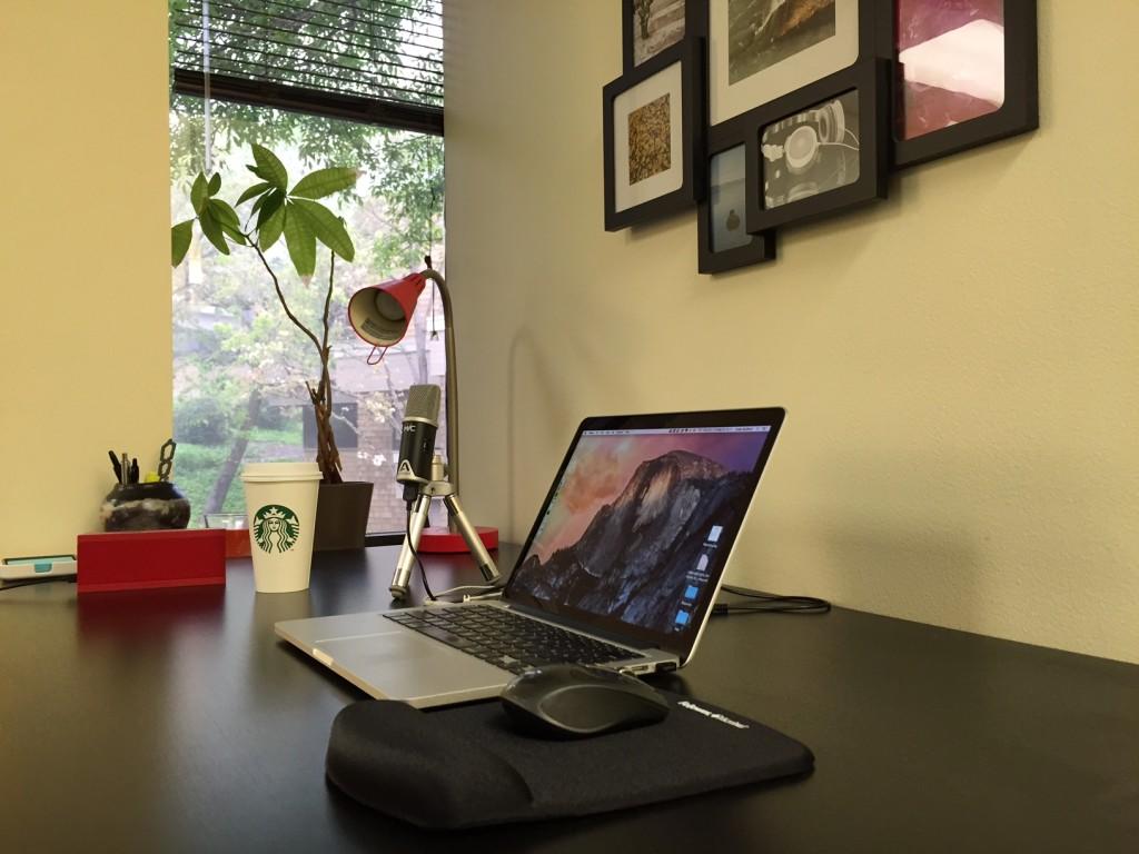 Uriah's Desk