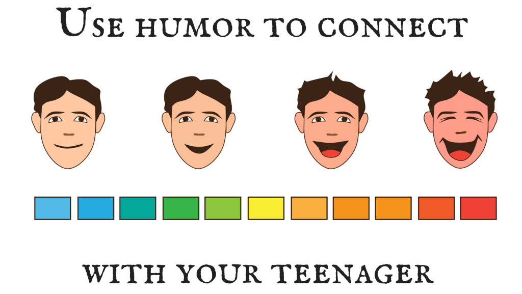 Use humor to connect with your son