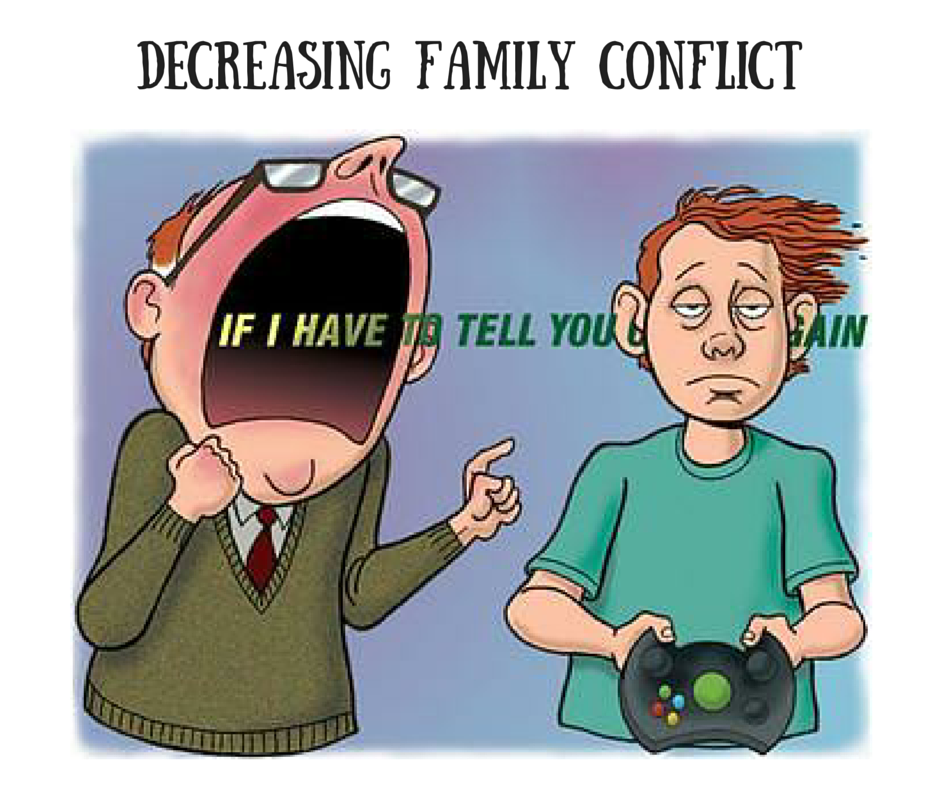 Video Games - Decrease Family Conflict